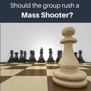 Should the group rush a